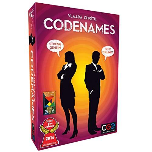 Asmodee Codenames, Spiel des Jahres 2016, Familienspiel, Ratespiel, Deutsch